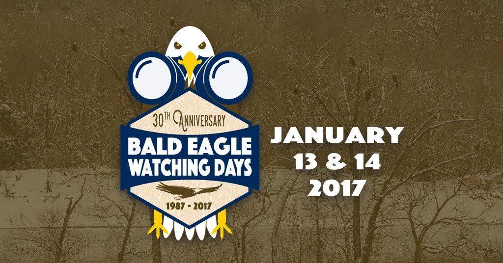 Bald Eagle Watching Days January 13 & 14, 2017