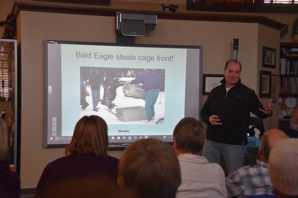 Emergency Eagle Care - Joe Kelley, DVM SP Small Animal Hospital