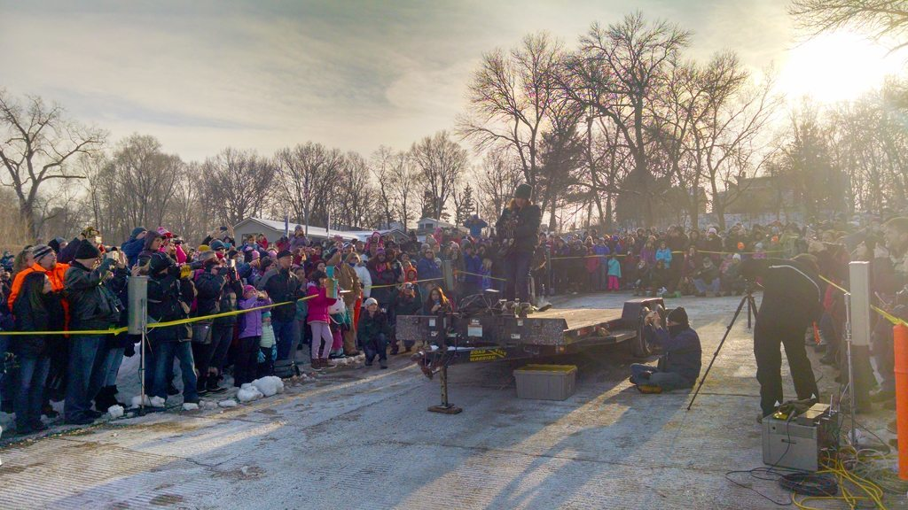 2017 Bald Eagle Watching Days Record Crowd