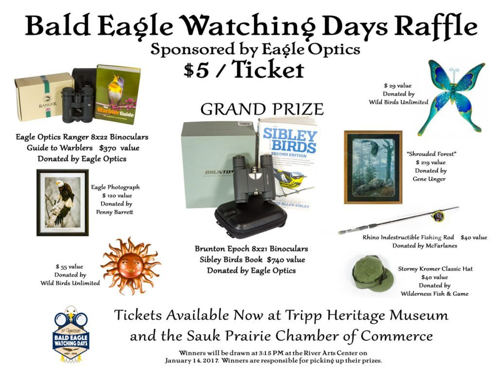 2018 Bald Eagle Watching Days Raffle
